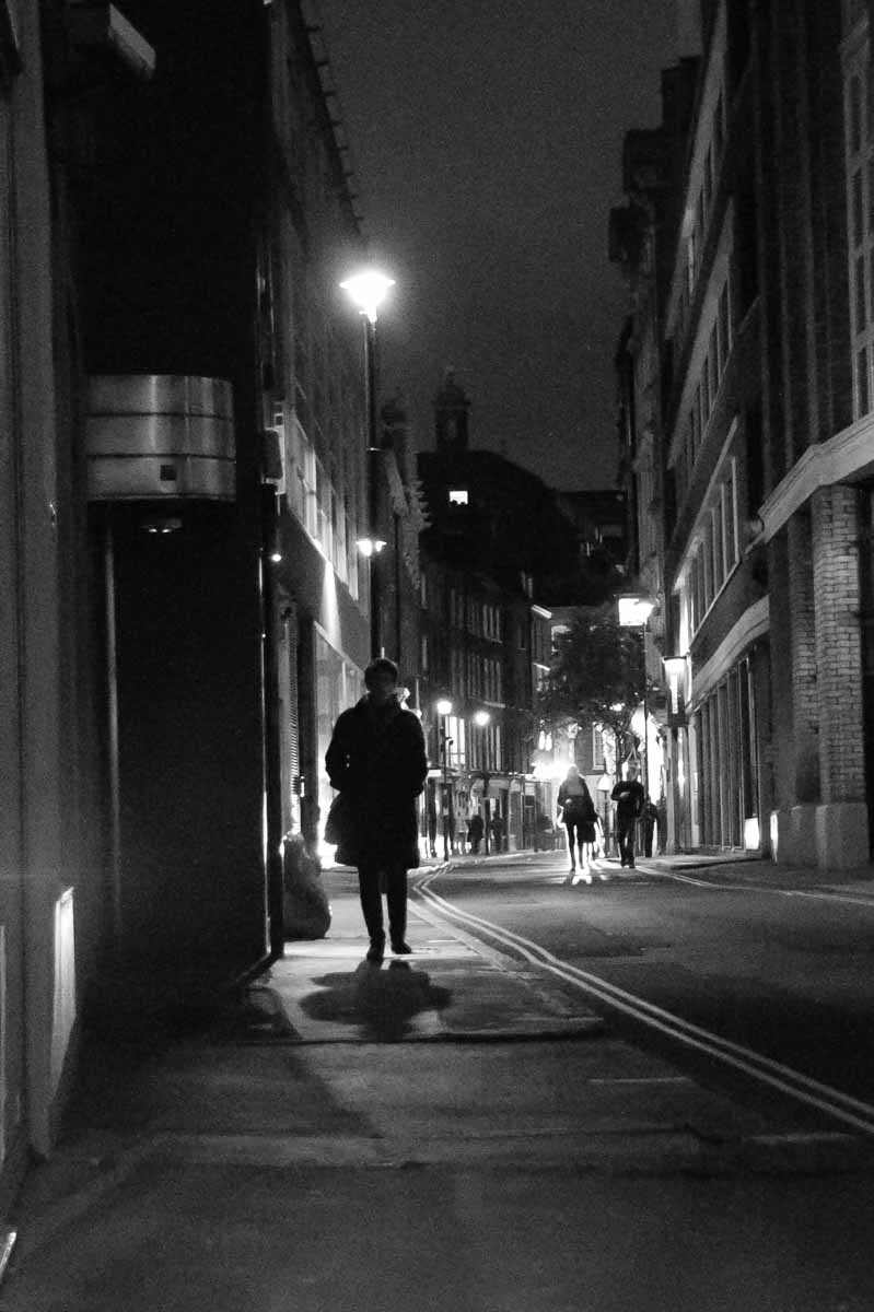 A Flaneur in London's Soho