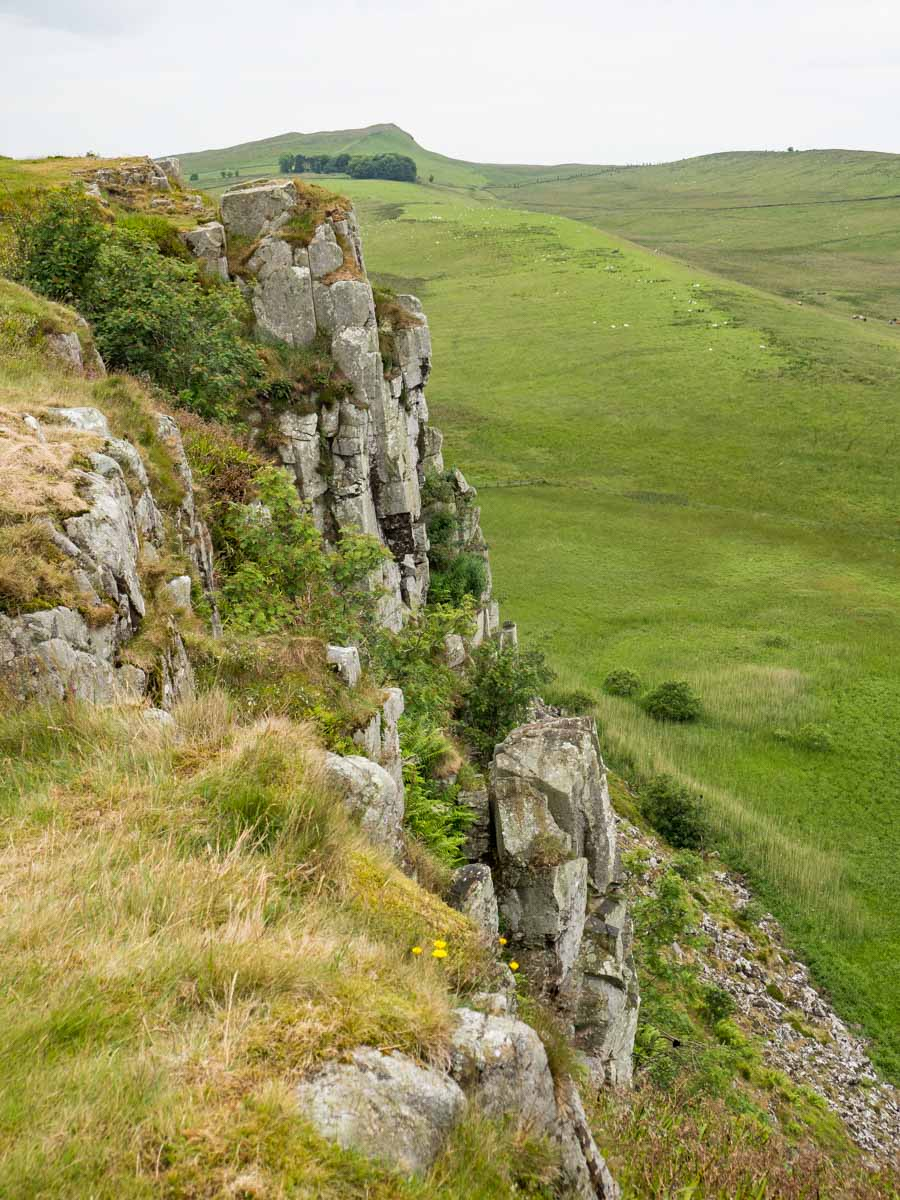 Hotbank Crags Hadrian's Wall