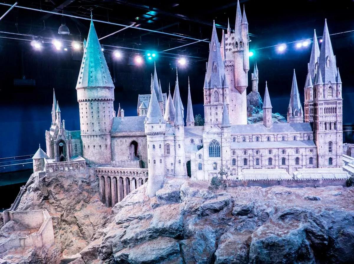 Hogwarts Model Warner Brothers Studio