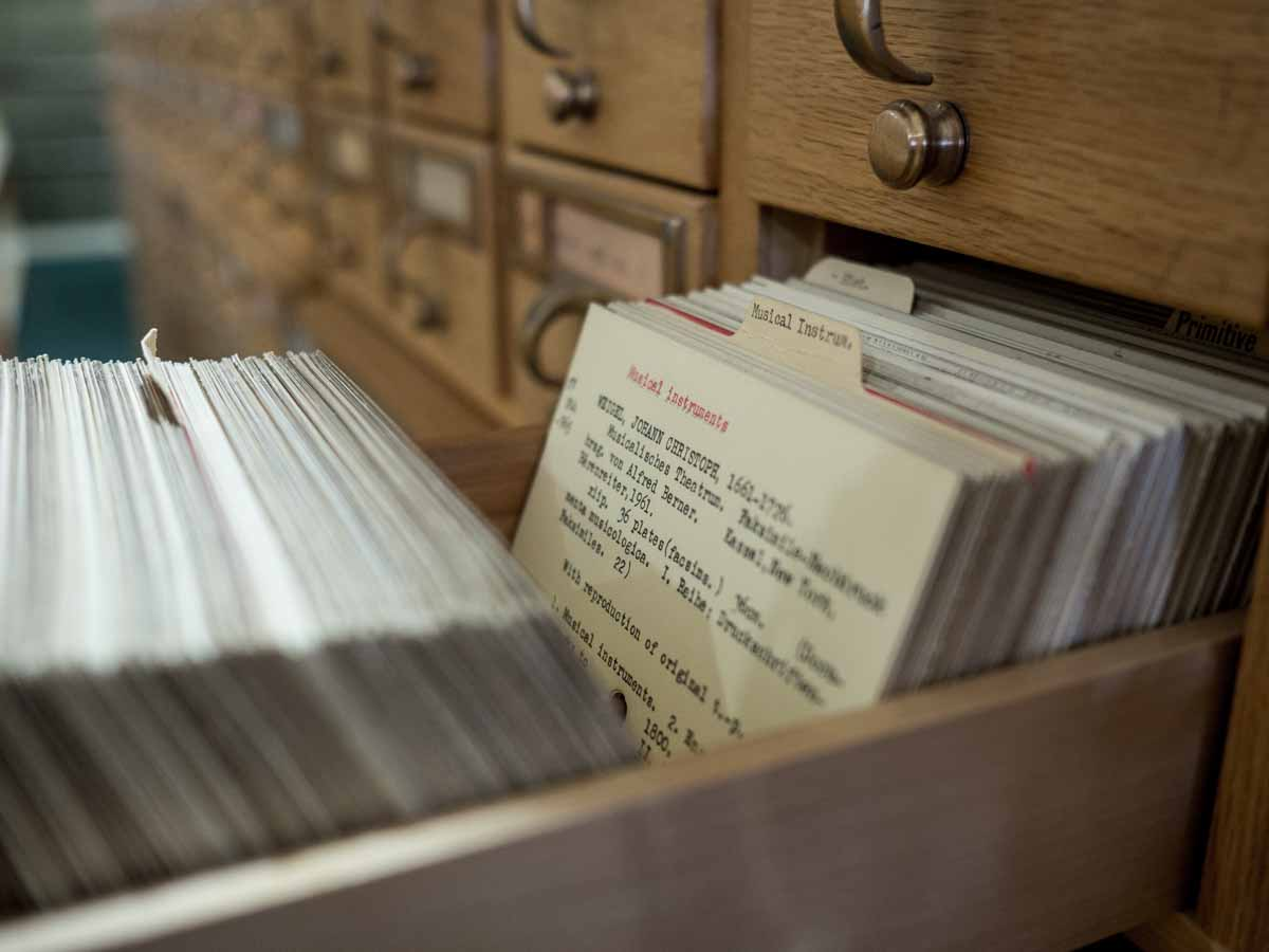 Newberry Library Card Catalog
