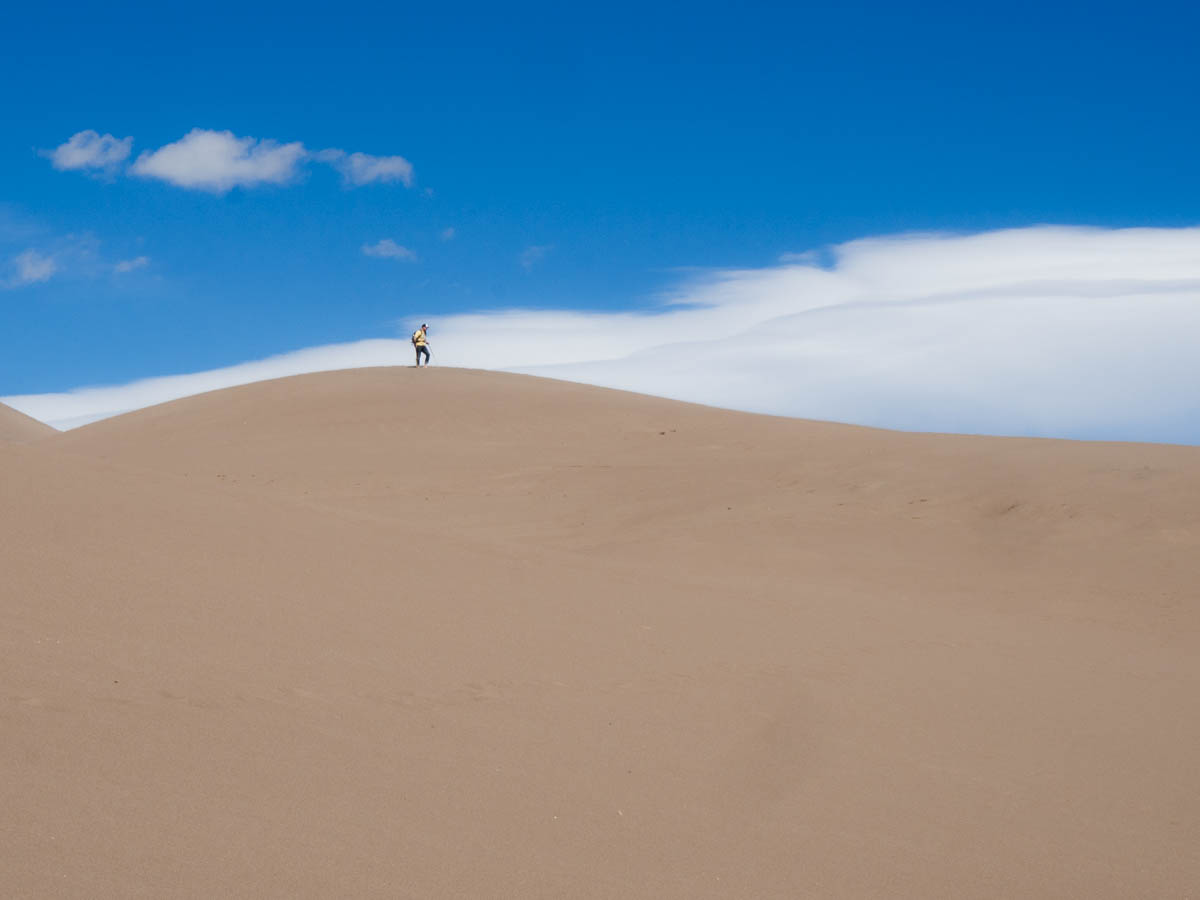 Great Sand Dunes National Park of Colorado