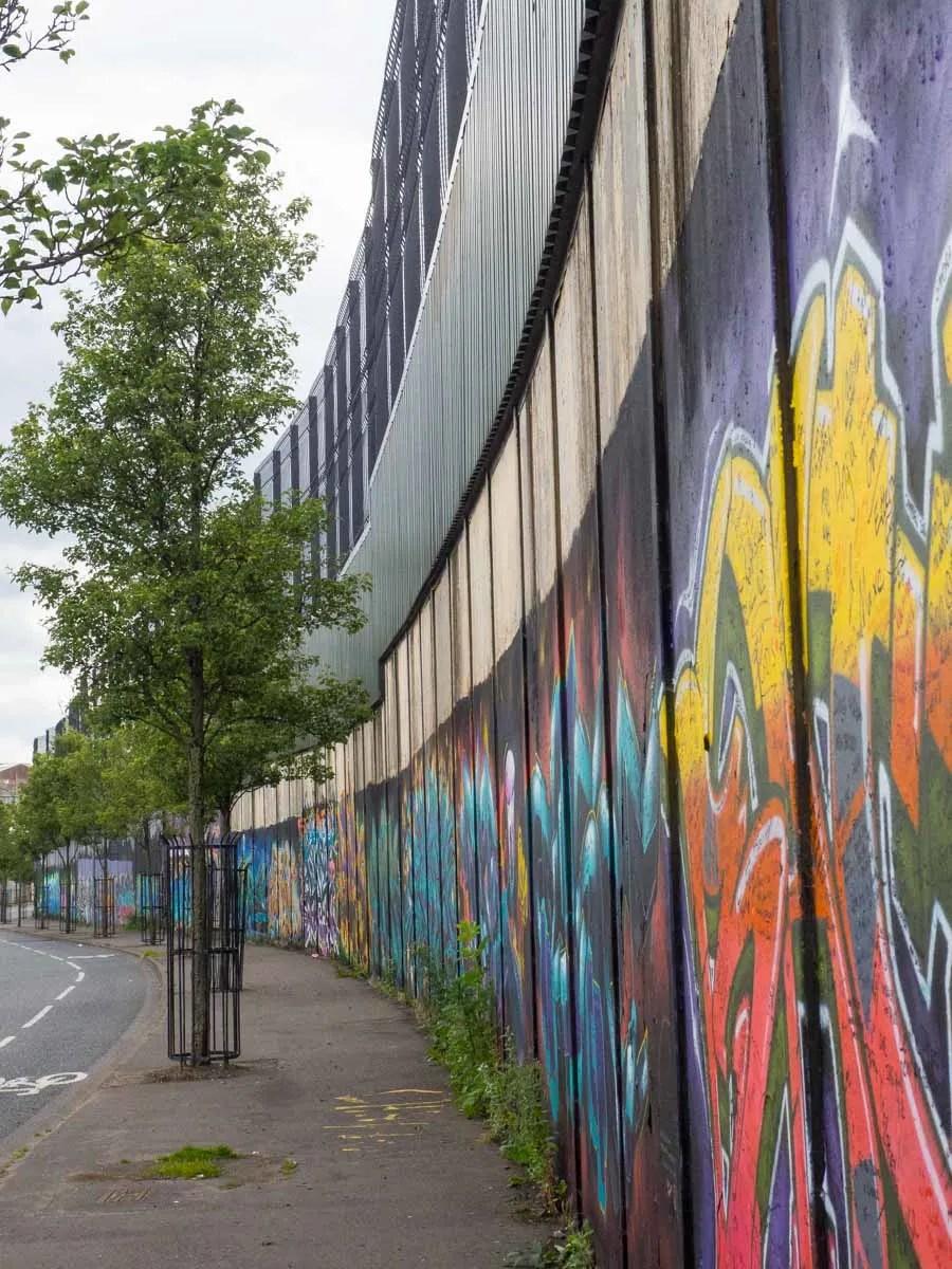 Belfast Mural -Peace Wall