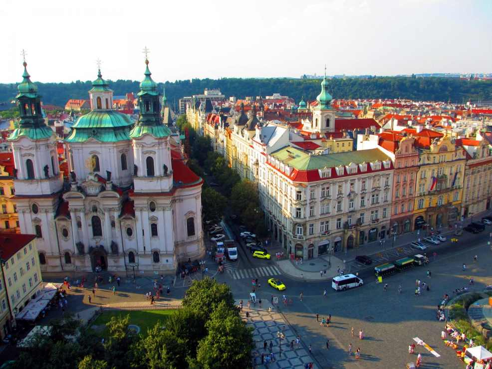 Prague and Bratislava and Budapest via Wayfaring With Wagner