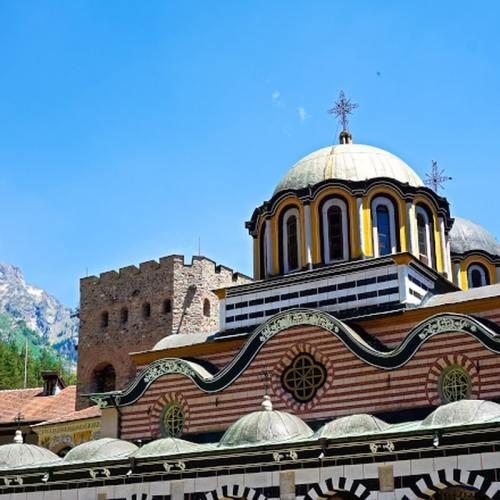 Rila Monastery via Wayfaring With Wagner