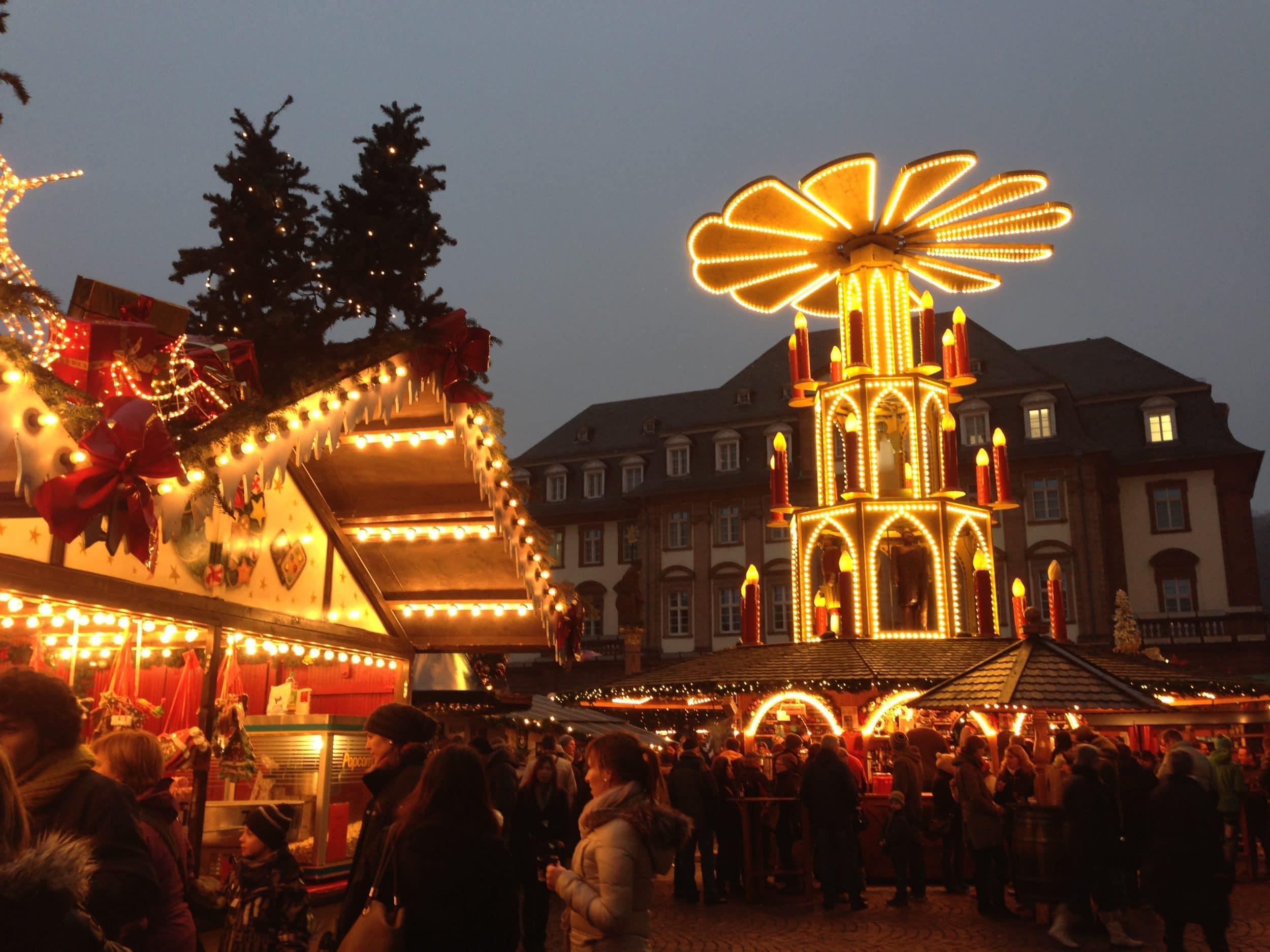 Heidelberg Christmas Market via Wayfaring With Wagner