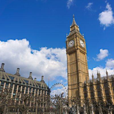 A Day at British Parliament // London