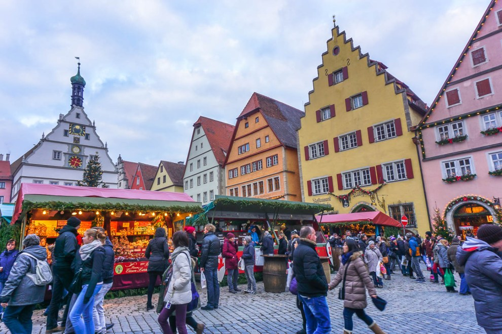 how to get to rothenburg ob der tauber from nuremberg