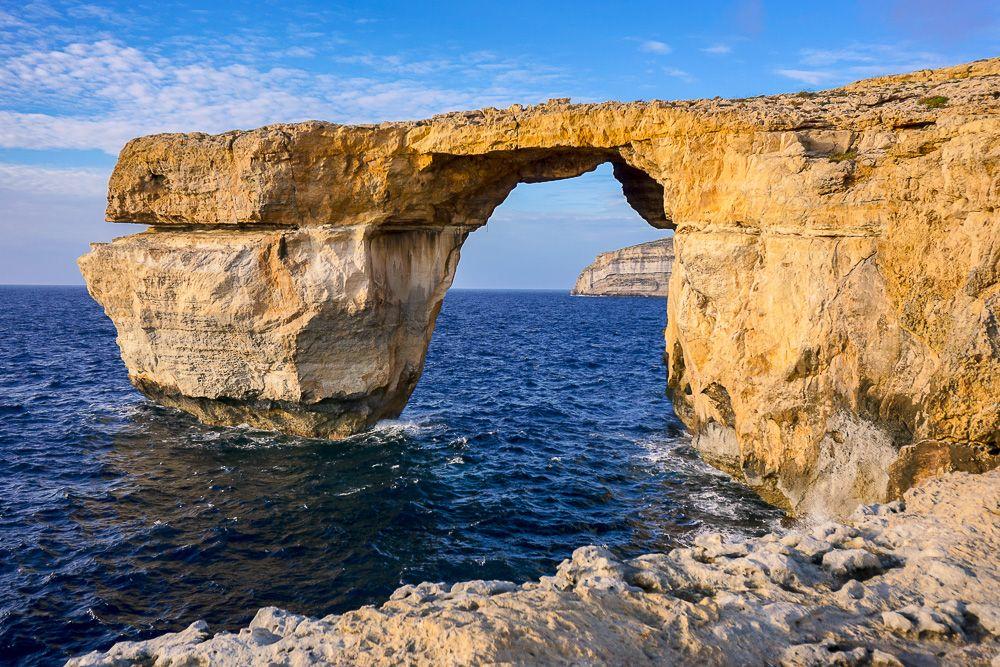 Azure Window in Malta via Wayfaring With Wagner