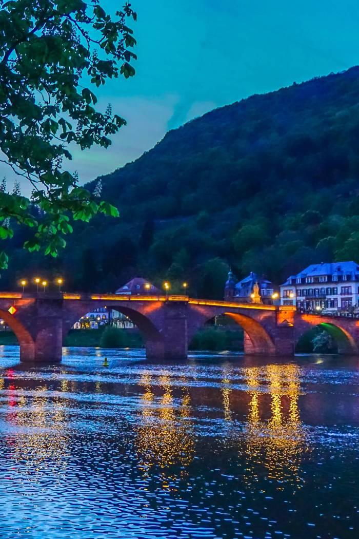 Photo Diary: Heidelberg at Night