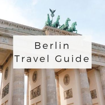 Berlin Travel Guide via Wayfaring With Wagner