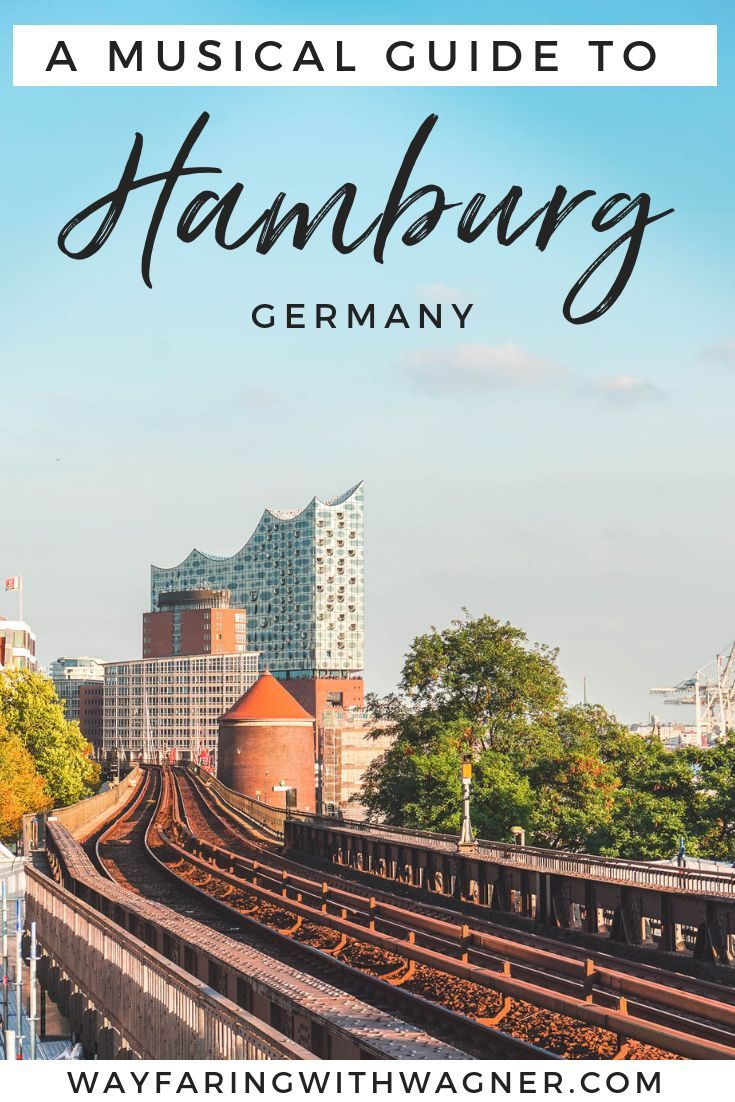Here's a musical guide to the city of Hamburg, Germany - the Elbphilharmonie, the Reeperbahn Festival, the classical artists, and everything in between. See what there's to do in Hamburg, Germany! #Hamburg #Germany