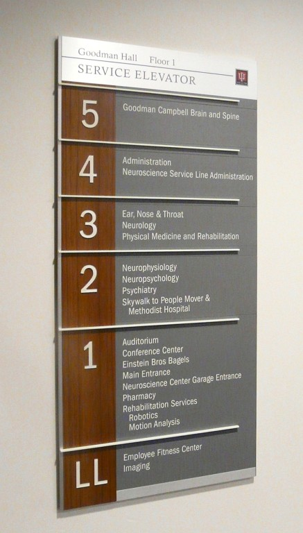 Wayfinding in Hospitals and Parking Garages  Indiana University Health System