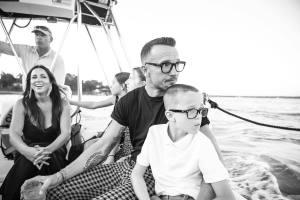Carl Lentz with family