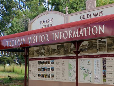 Shire of Toodyay Visitor Information Bay