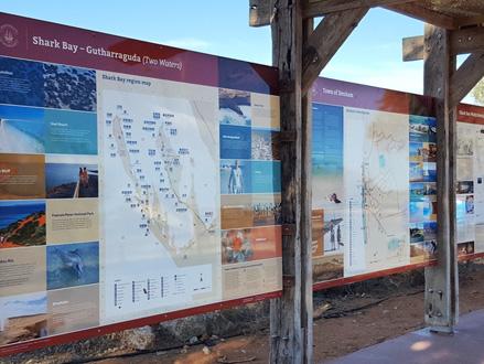 New Visitor Information Bay in Shark Bay - Denham