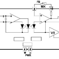 Rs 232 To 485 Converter Circuit Diagram 2000 Jeep Cherokee Headlight Switch Wiring Optical Isolated Amplifier Internal Structure : Wayjun Industrial Automation, 4-20ma ...