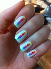polka dot nail art ideas - cheap