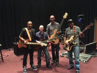 Carl Young, Wayne Jones, Wayne & Arlington Houston @ SIR studios In San Francisco