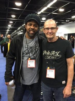 Victor Wooten and Wayne Jones at NAMM 2016
