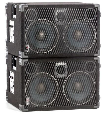 Wayne Jones Audio - 1000 Watt 2x10 Powered Bass Cabinet