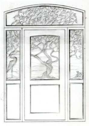 Wayne Cain 187 Carving