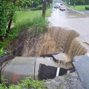 June flooding Monroe County