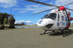 Rescure helicoptor