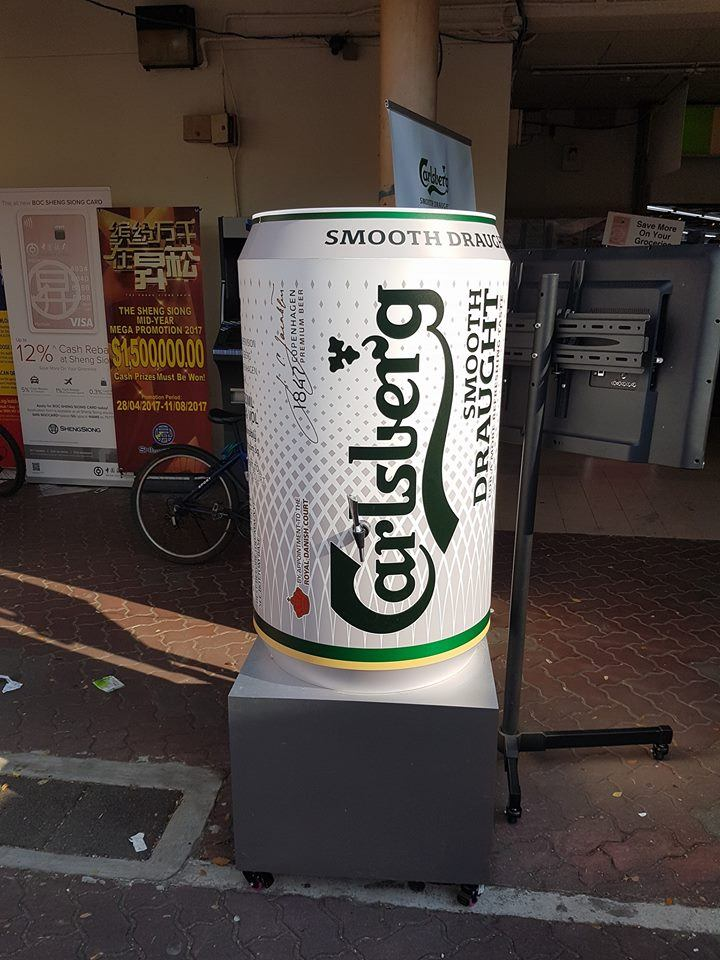 Carlsberg New Smooth Draught Beer