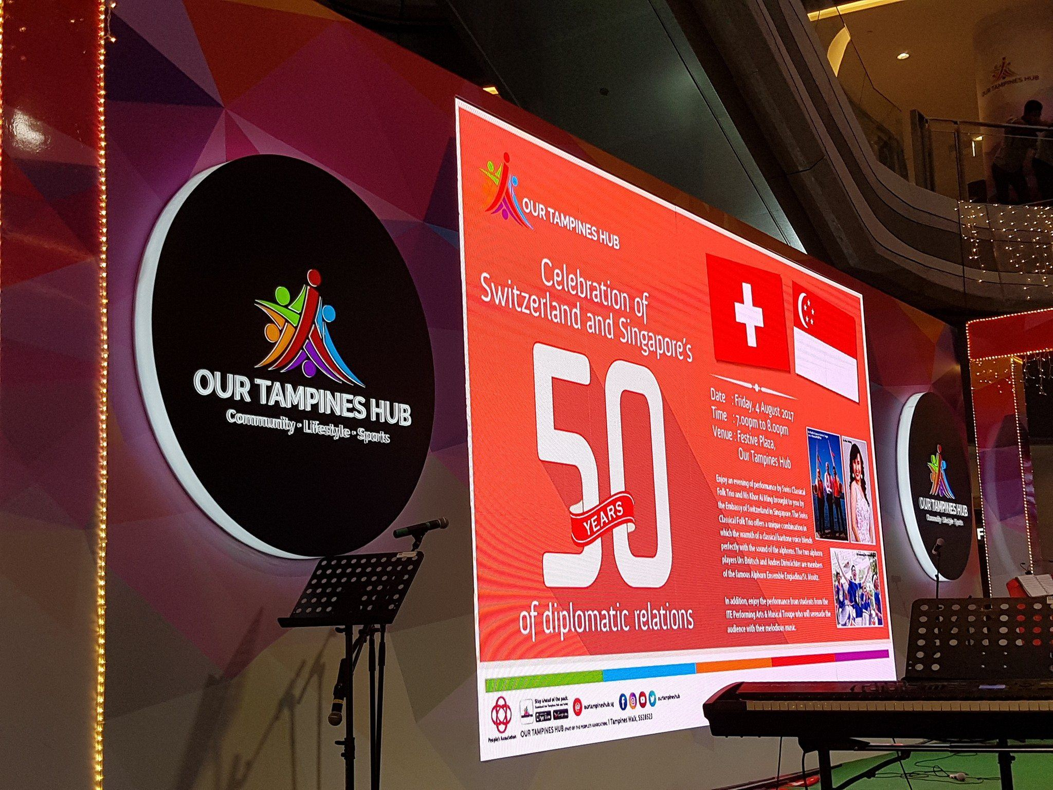 Celebration of Switzerland and Singapore's 50 years of Diplomatic Relations