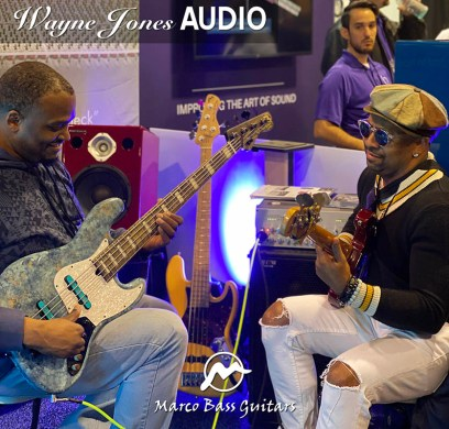 Garrett Body and RiShon Odel with Wayne Jones AUDIO @ NAMM 2020