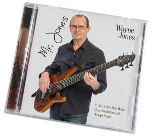 Wayne Jones Bass Player - New CD Mr. Jones - https://www.wayne-jones.com/bass-guitar/