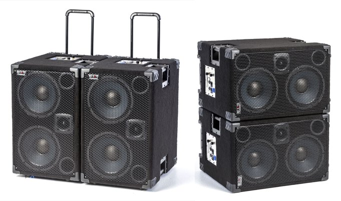 1000 Watt 2x10 Powered Bass Cabinet - Wayne Jones Audio