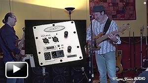 Craig using the 1000 Watt WJ 1x10 Powered Stereo Bass System - Wayne Jones AUDIO