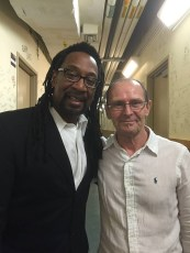 Nate Phillips with Richard Elliott at the Low Country Jazz Festival