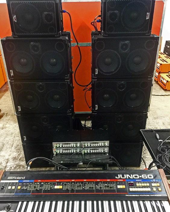 9000 Watts Of Wayne Jones AUDIO Wall Demolishing Sound!!!