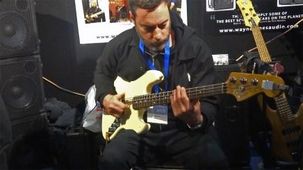 Chris Bekker - Wayne Jones AUDIO stand, Melbourne Guitar Show 2016