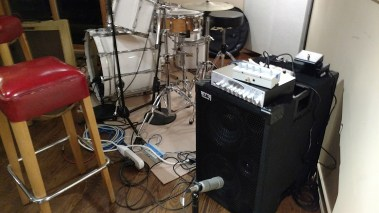 WJ 2x10 rig that bassist and endorsee André Berry used for David Sanborn's private party. Powered speaker cabinets for bass players.
