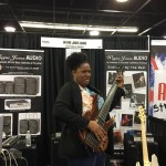 Adrienne C. Moore at NAMM 2016