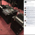 Arlington Houston, bass player, spreading the word of Wayne Jones AUDIO.