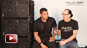 Bass player David Dyson interviewed by Wayne Jones AUDIO about the range of products for bass players and his introduction to Wayne Jones AUDIO