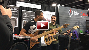 David Dyson & Bryan Ladd  performing at NAMM 2017