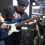 Drew Dedman - bass player for Superheist