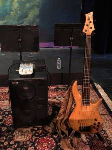 """Jonathan Herrera ~ ""This signal chain is kind of killing. Old George Furlanetto F Bass BN5, API TranZformer LX, Wayne Jones powered 2x10."""