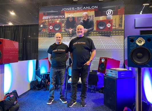Wayne Jones and Steve Scanlon, NAMM 2020