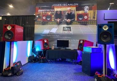 Jones-Scanlon Studio Monitors at NAMM 2020