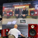 Steve Scanlon of Jones-Scanlon Studio Monitors at NAMM 2020