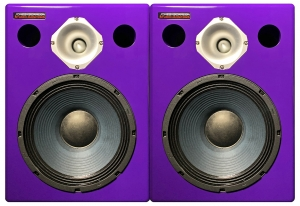 Jones-Scanlon recording studio monitors - audio engineering