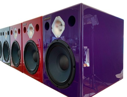 Jones-Scanlon recording studio monitors - high powered