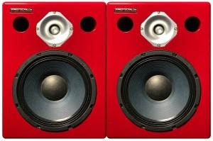 Jones-Scanlon recording studio monitors - recording studio gear