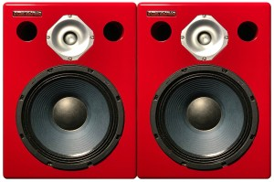 Jones-Scanlon recording studio monitors - recording studio gear